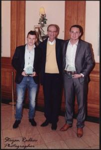 Georgi Ubinov s Todor Nedelev i Asen Karaslavov