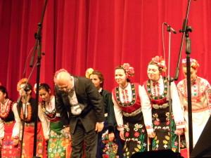 Naroden hor i prof. BUradzhiev