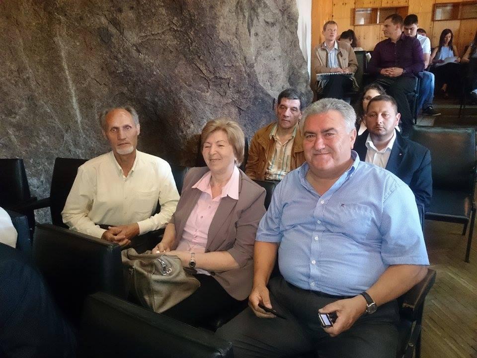 akademik Mariia Baltadzhieva sys svoi chuzhdestranni doktoranti dnes profesori doktoranri