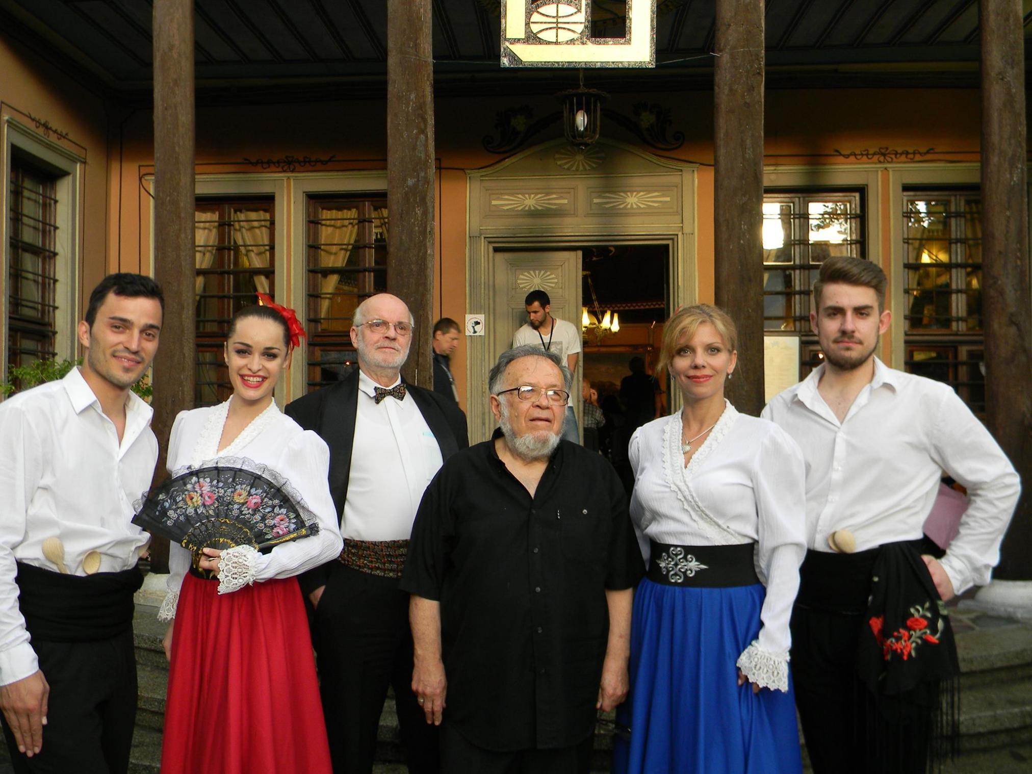 Prof. Nikolai Stoikov prof. Anatoli Krystev i studenti ot AMTII